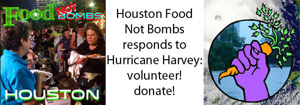 Donate to Houston Food Not Bombs